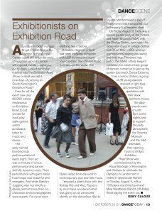 DanceToday - Exhibition road Oct12