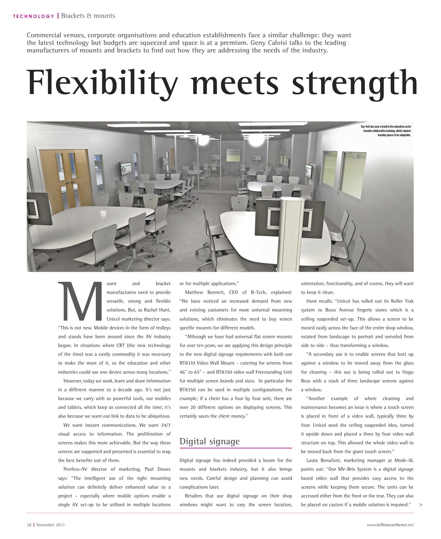 Flexibility meets strength - Geny Caloisi