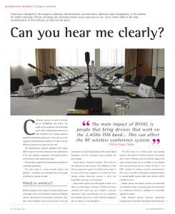 InAVate technology insight - Can you hear me clearly?